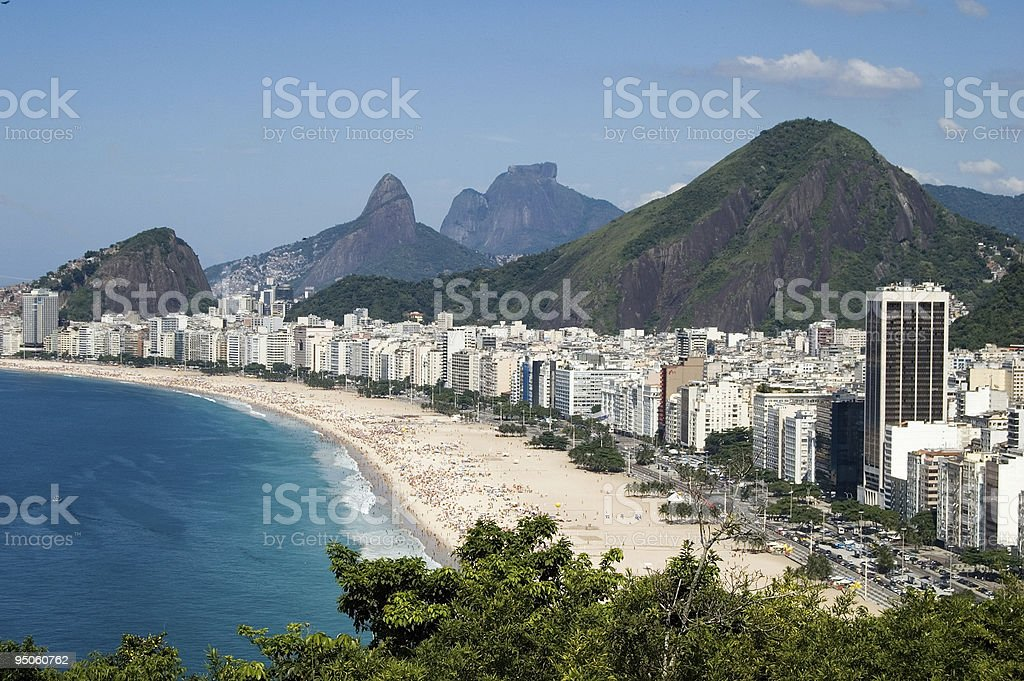 Copacabana stock photo
