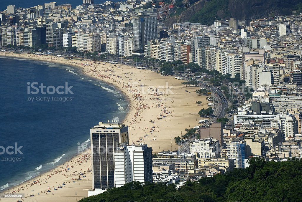 Copacabana, Rio de Janeiro, Brazil royalty-free stock photo