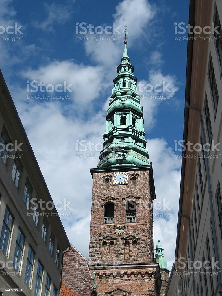Copenhagen Church royalty-free stock photo