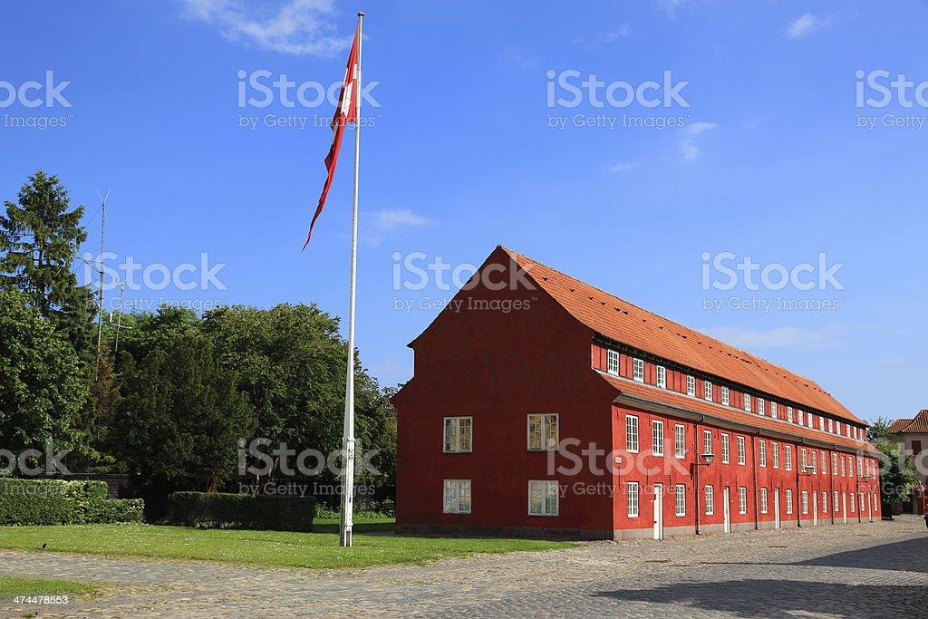 Copenhagen Citadel / Kastellet i K?benhavn stock photo