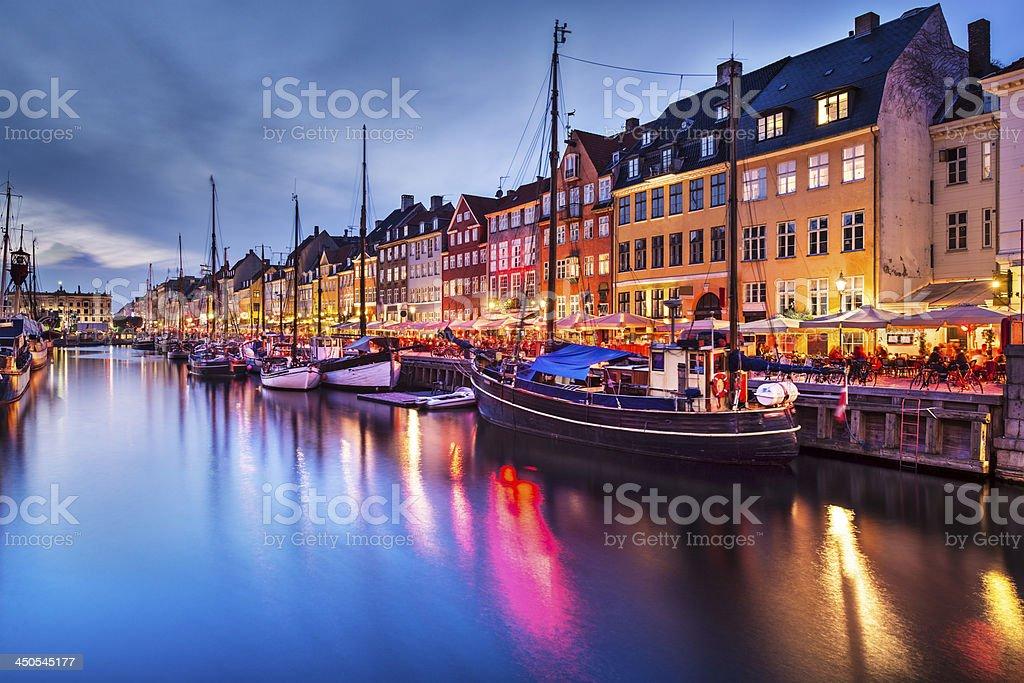 Copenhagen Denmark stock photo