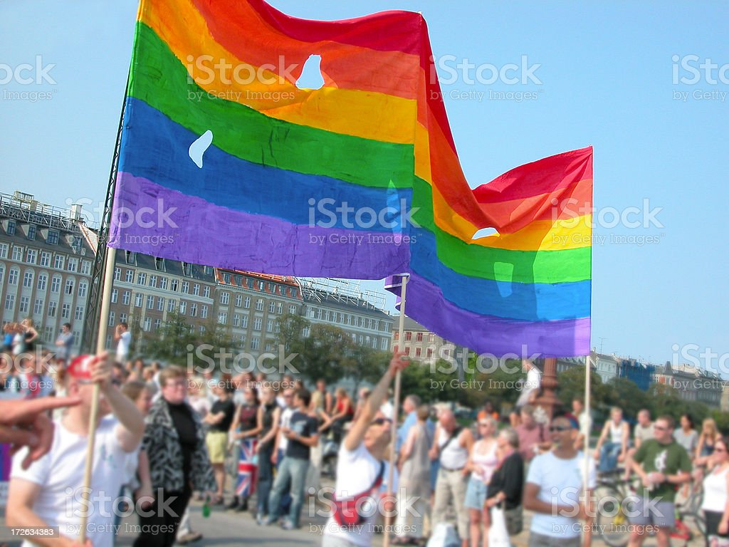 Copenhagen Gay Pride Parade royalty-free stock photo