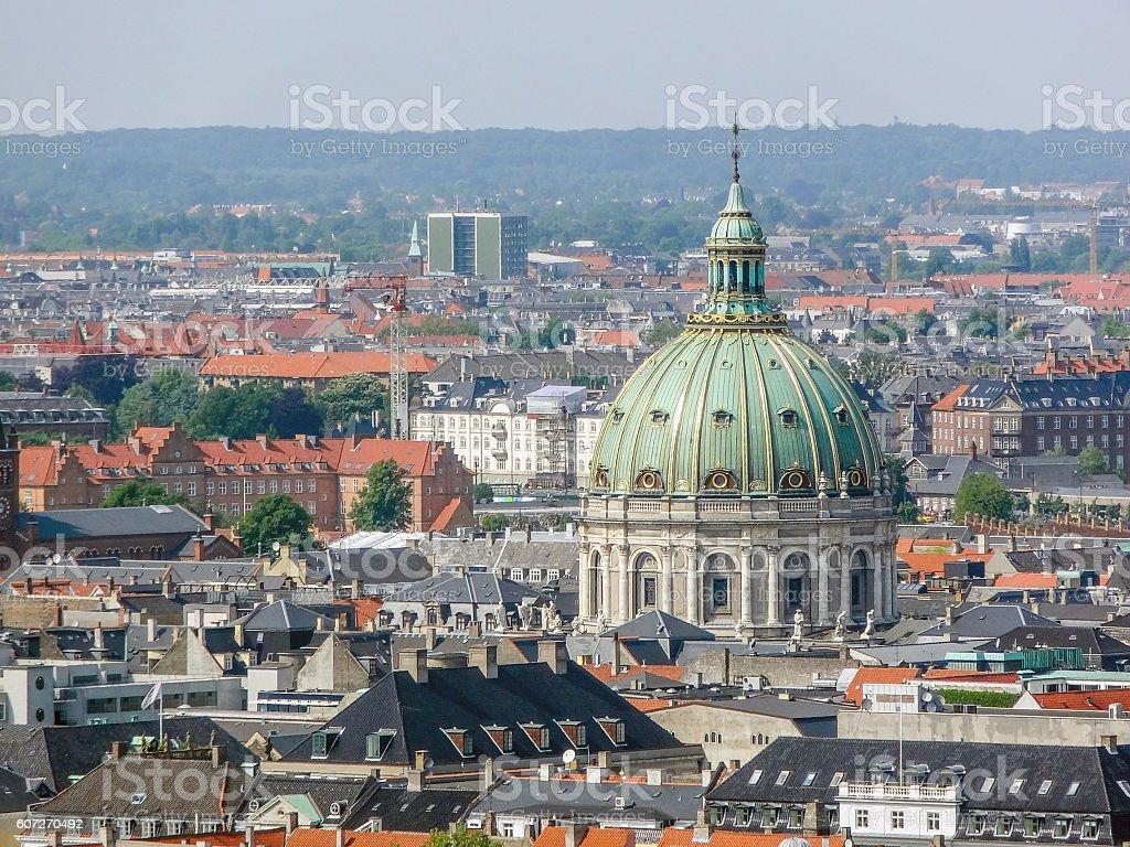 Copenhagen in Denmark stock photo