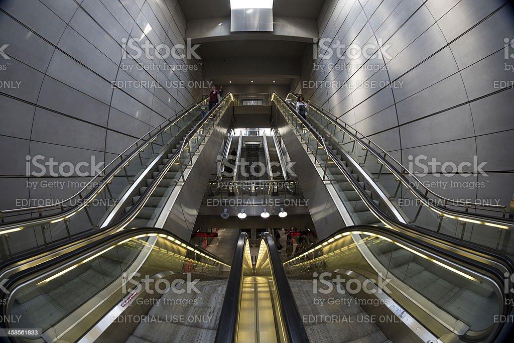 Copenhagen Metro, Kgs. Nytorv station royalty-free stock photo