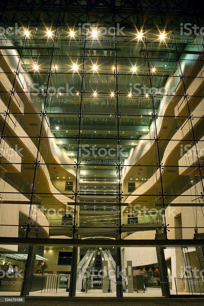 Copenhagen Night royalty-free stock photo