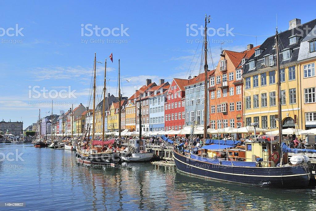 Copenhagen, Nyhavn stock photo
