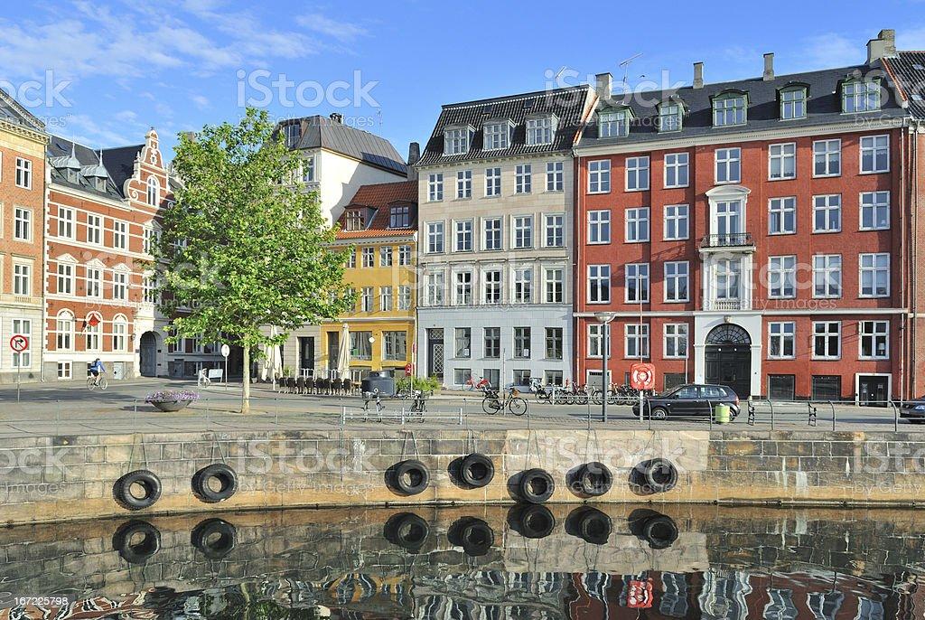 Copenhagen Old Town royalty-free stock photo