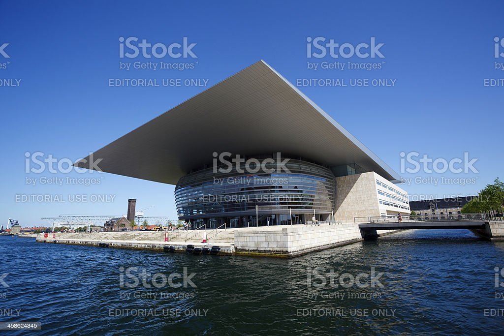 Copenhagen Opera House royalty-free stock photo