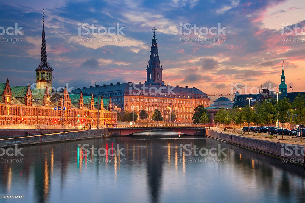 Copenhagen. stock photo