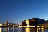 Copenhagen Royal Library by night