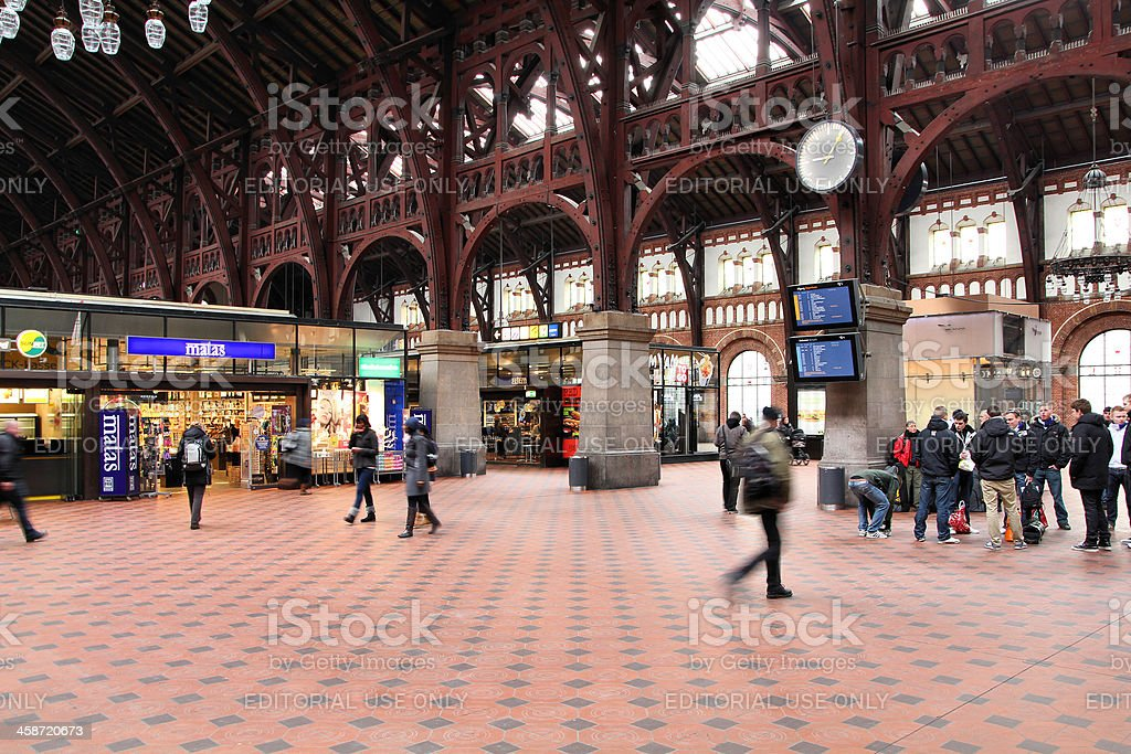 Copenhagen station royalty-free stock photo