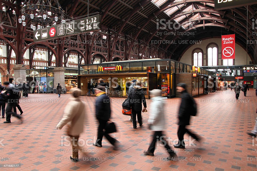 Copenhagen Station royalty-free stock photo