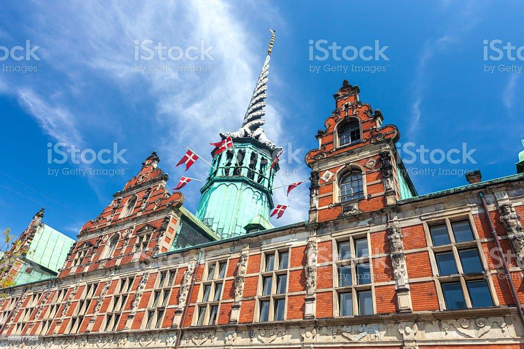 Copenhagen Stock Exchange stock photo