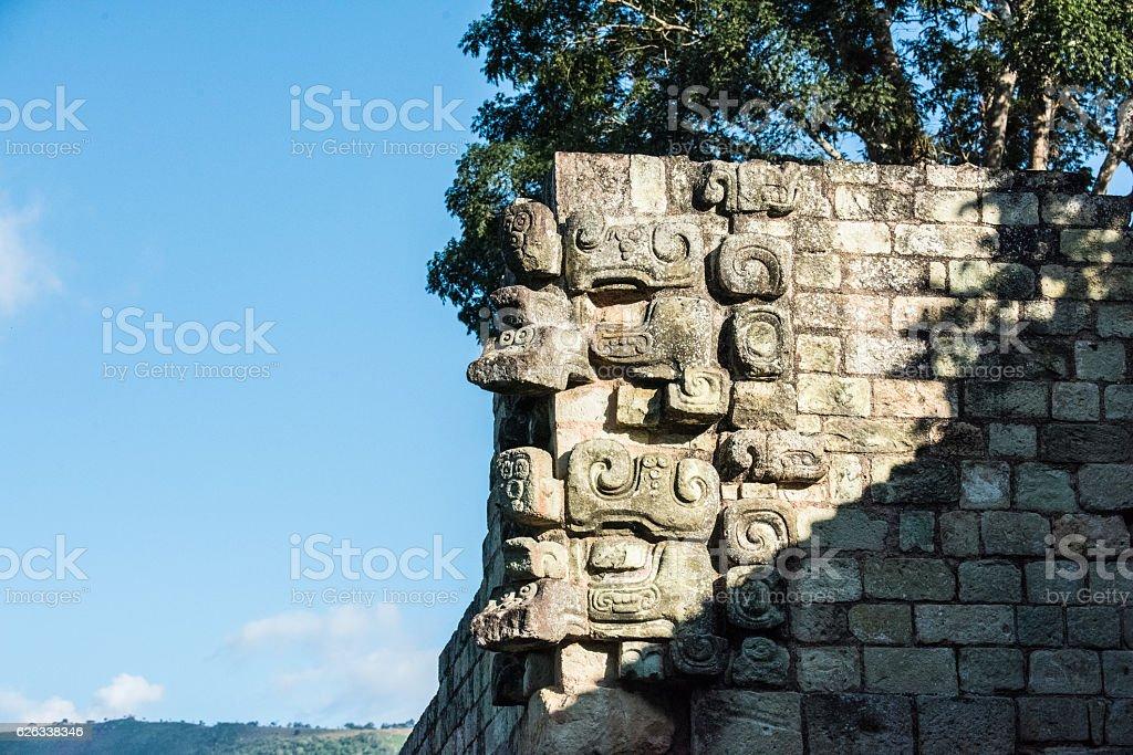 Copán Ruins in Honduras stock photo