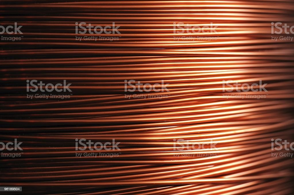 Copper backgrounds stock photo