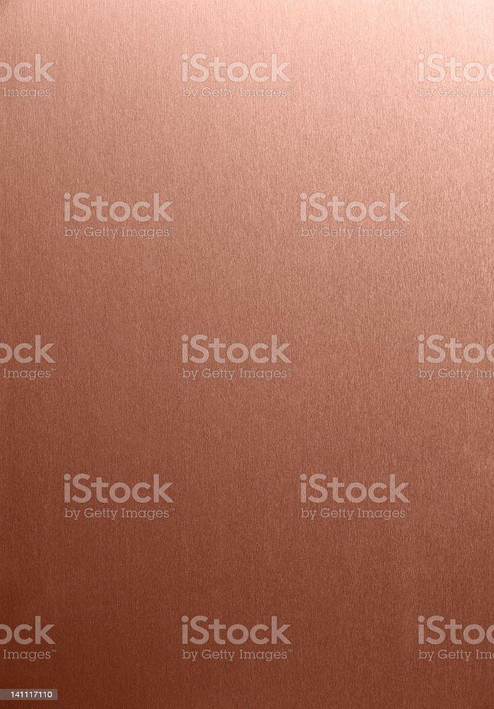 Copper Brush stock photo