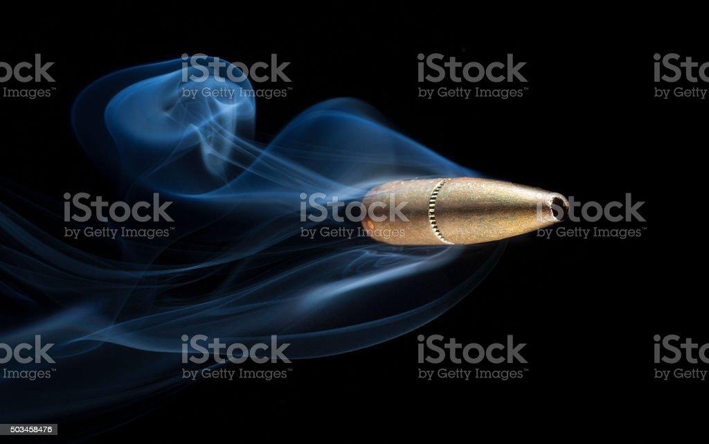 Copper bullet stock photo