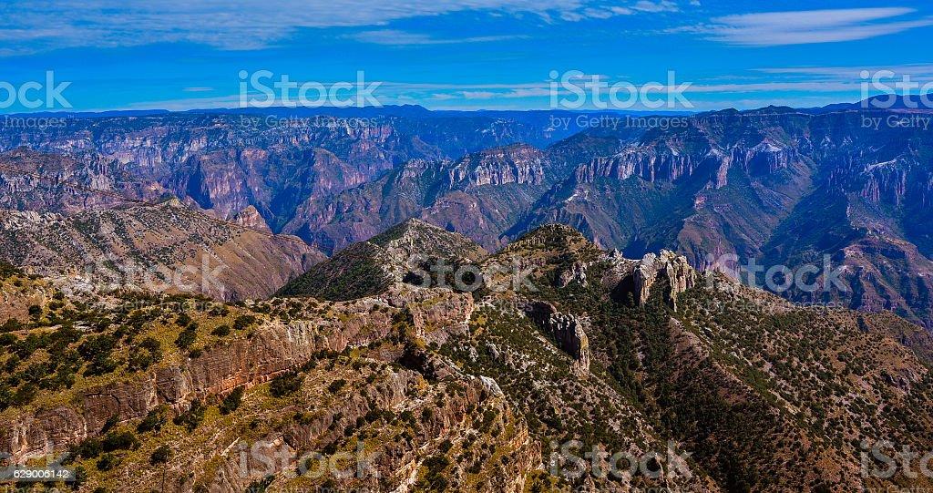 Copper Canyon - Chihuahua, Mexico stock photo