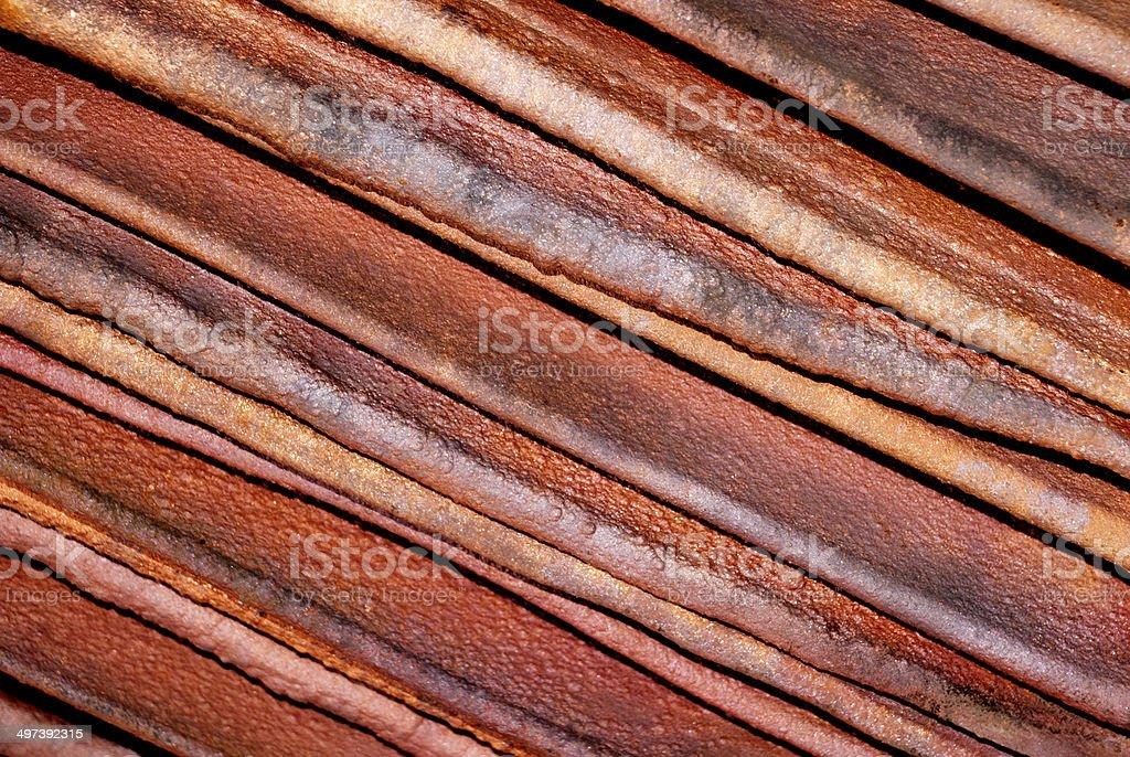 Copper Cathodes Diagonal stock photo
