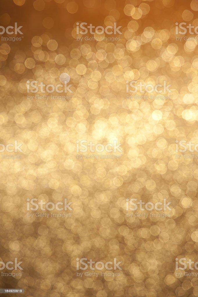 Copper colored lights stock photo