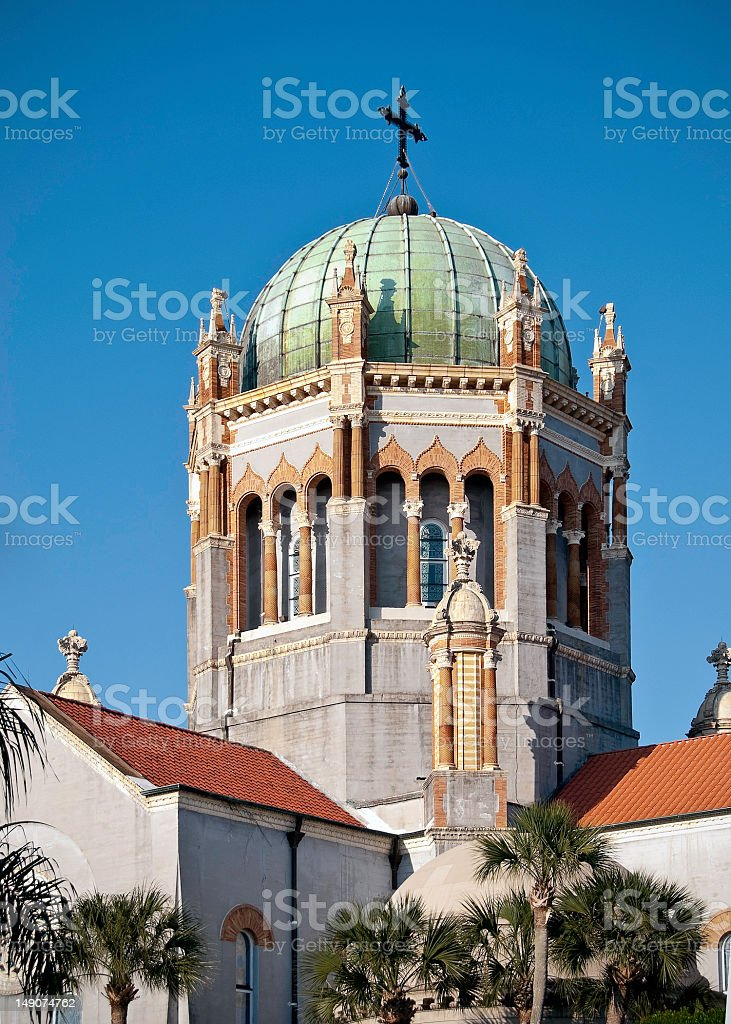 Copper Domed building royalty-free stock photo