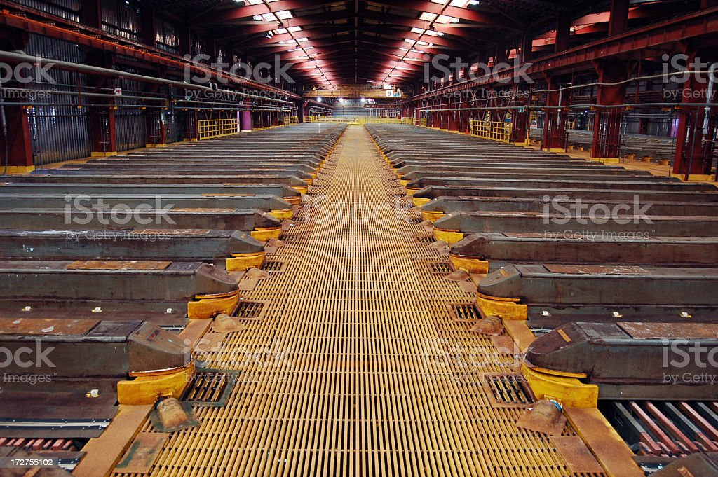 Copper Extraction 2 stock photo