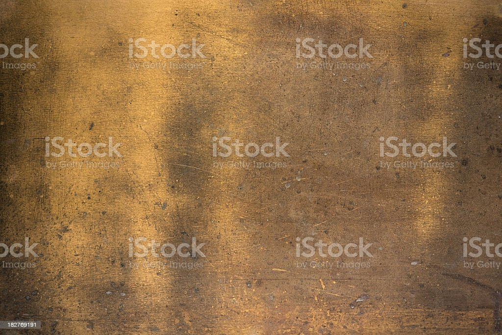 Copper Grunge royalty-free stock photo