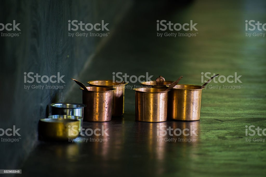 Copper Historic Tumbler stock photo