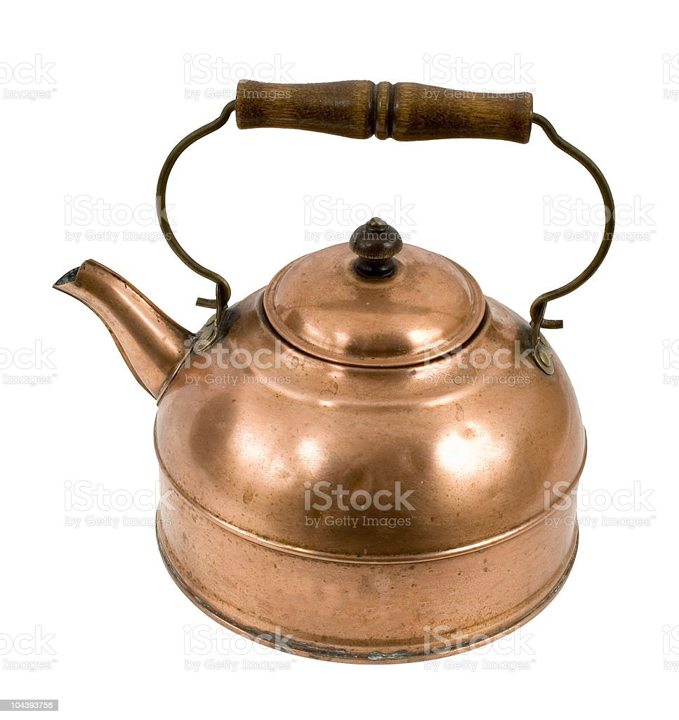 Copper Kettle royalty-free stock photo