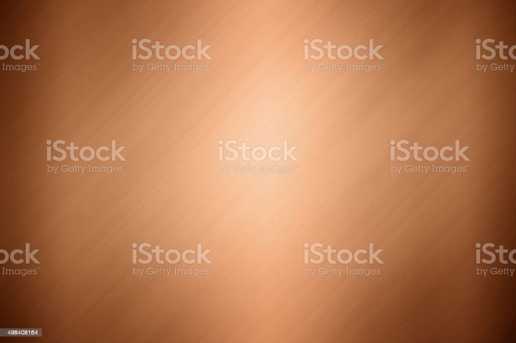 Copper metal background stock photo