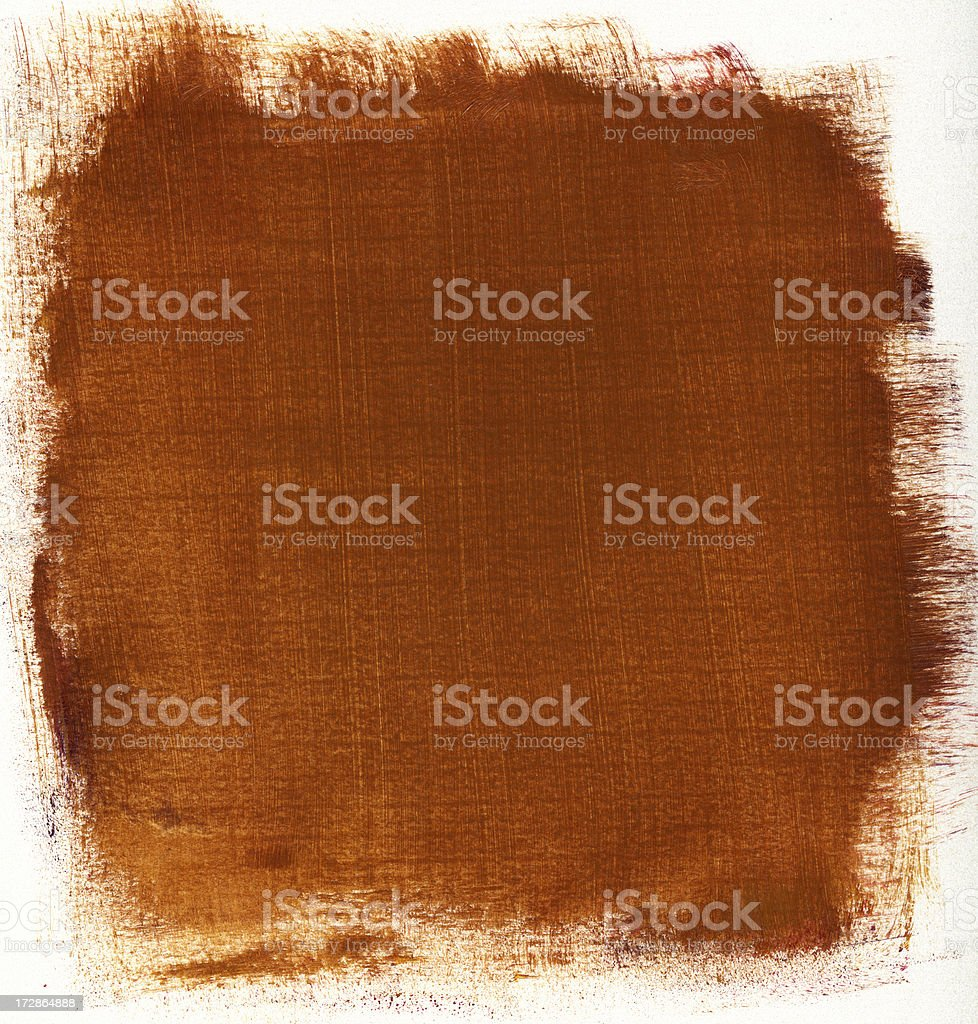Copper Painted Background royalty-free stock photo