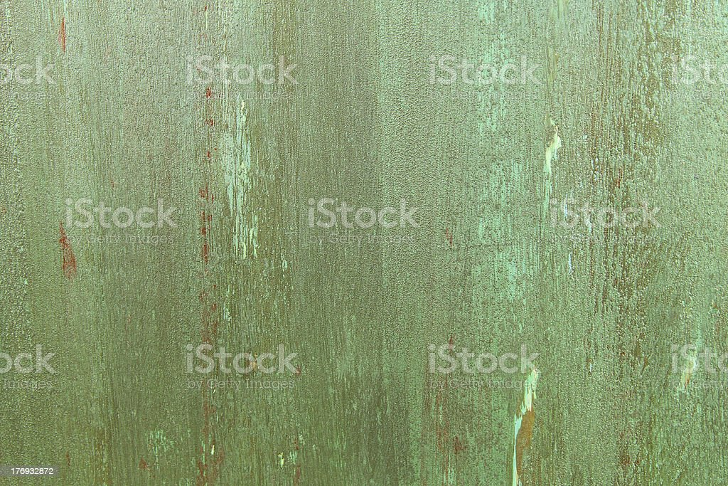 Copper patina structured background royalty-free stock photo