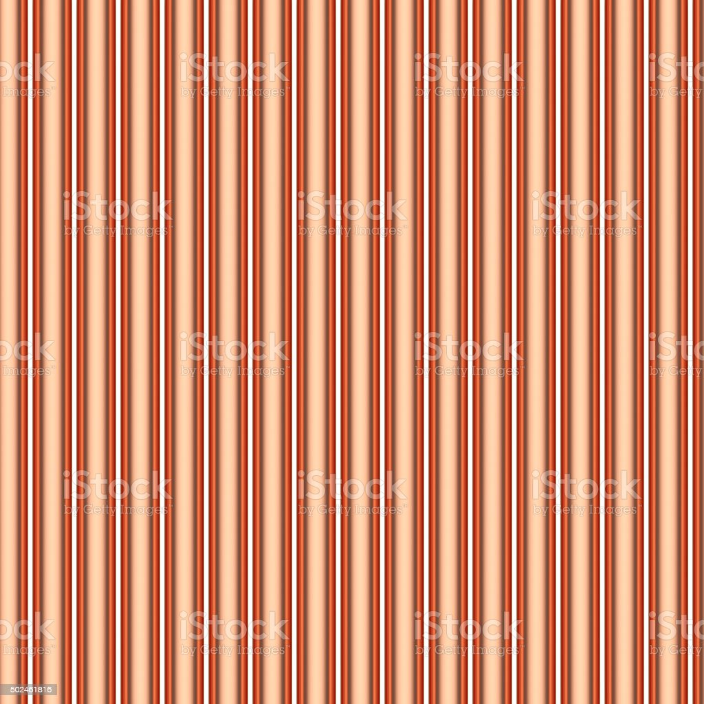 Copper pipes seamless background stock photo