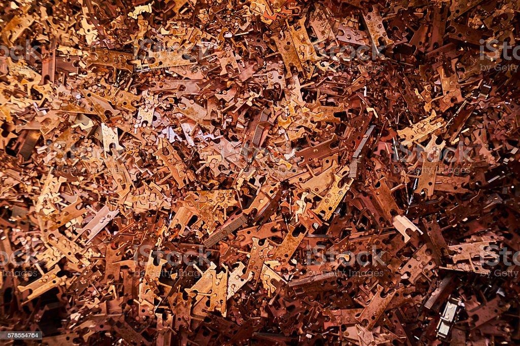copper resources stock photo