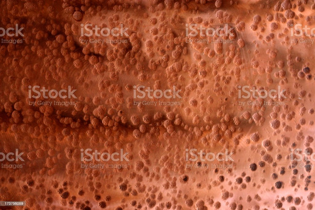 Copper Ripple royalty-free stock photo