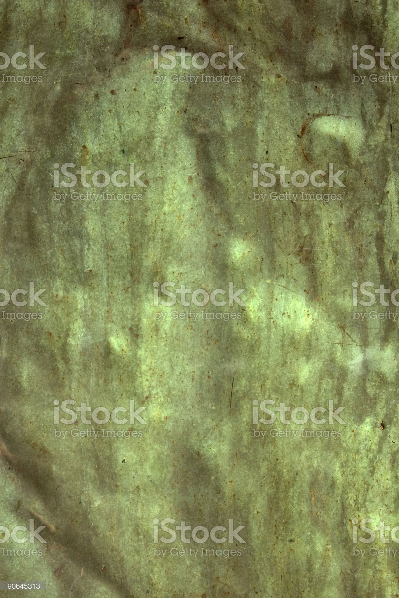 Copper Sheet royalty-free stock photo