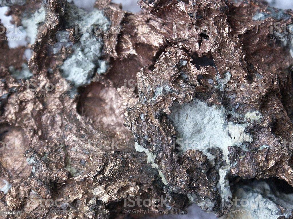 copper stone royalty-free stock photo