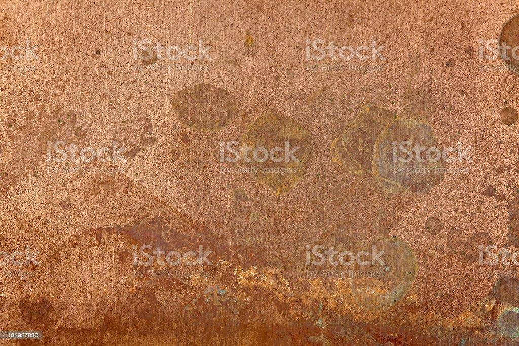 copper texture stock photo