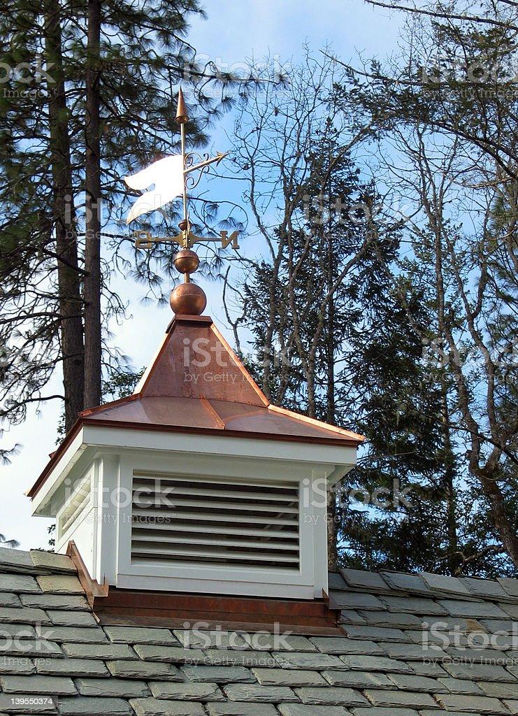 Copper Top Weathervane royalty-free stock photo