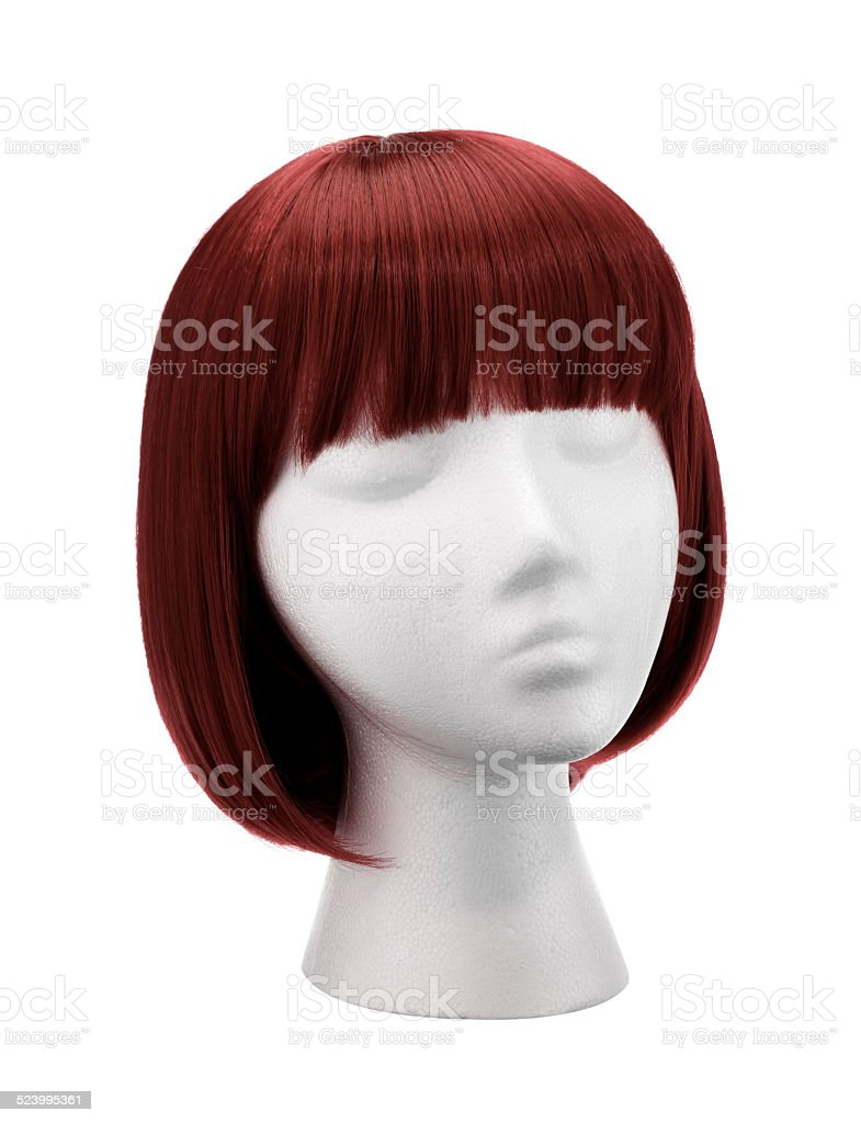 Copper Wig stock photo