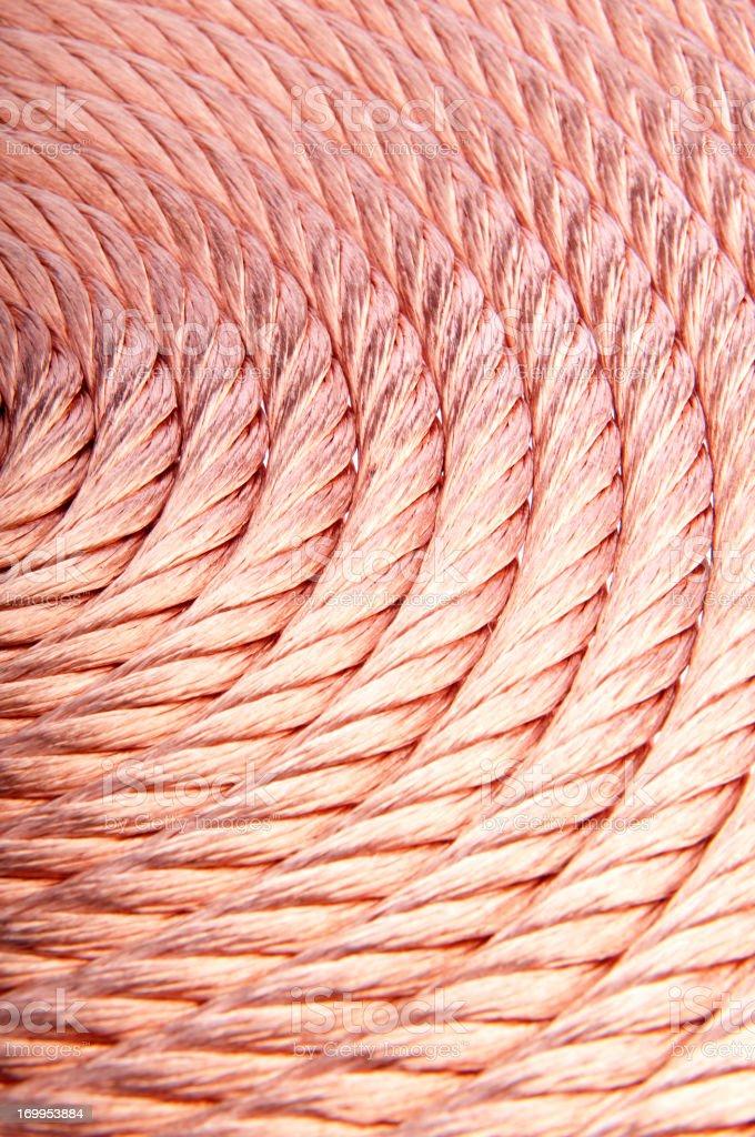 Copper Wire stock photo