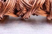 Copper wire raw materials and metals industry