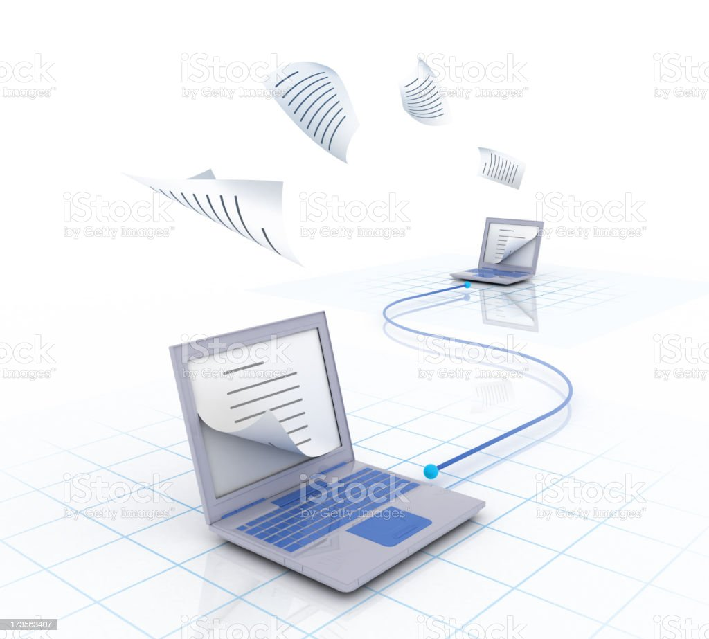 copy over network royalty-free stock photo