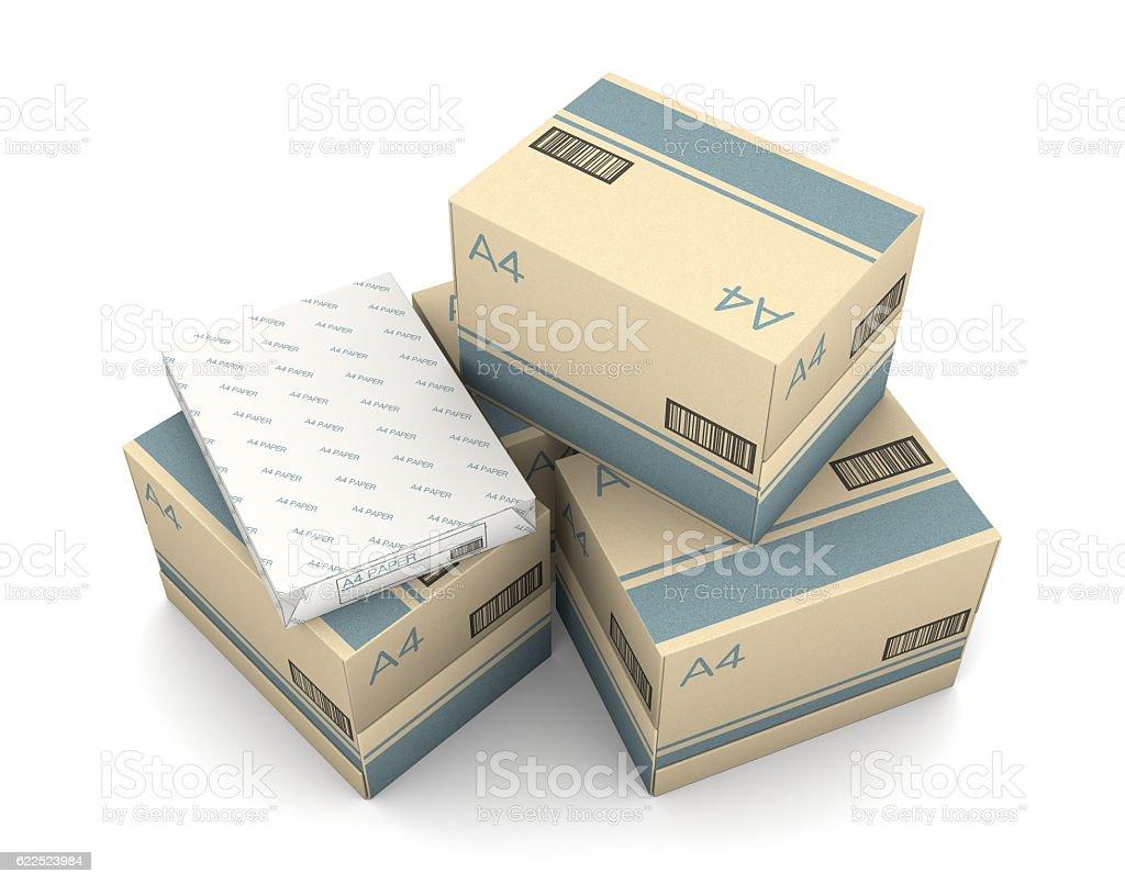 Copy paper stock photo