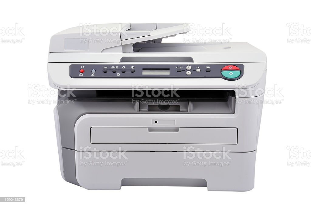 Copier royalty-free stock photo