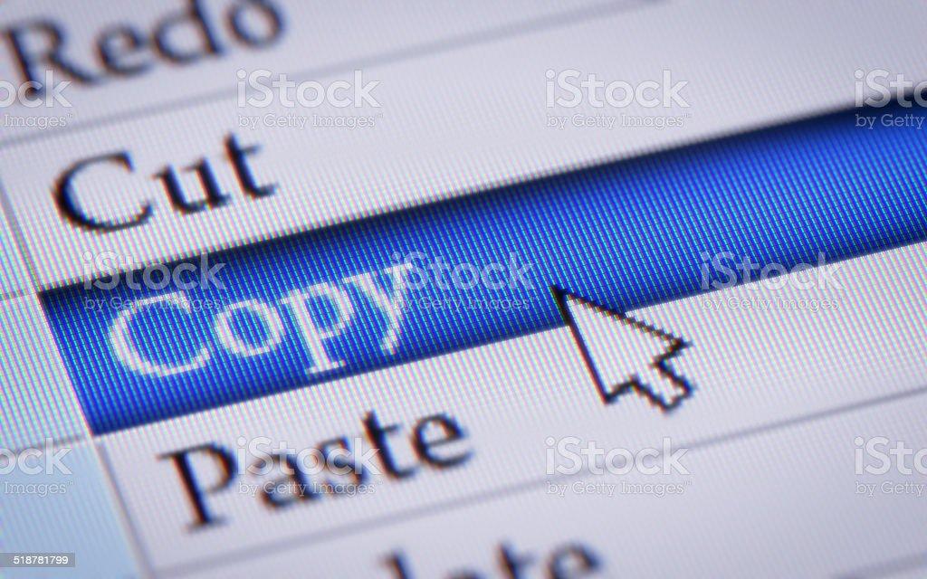Copy stock photo