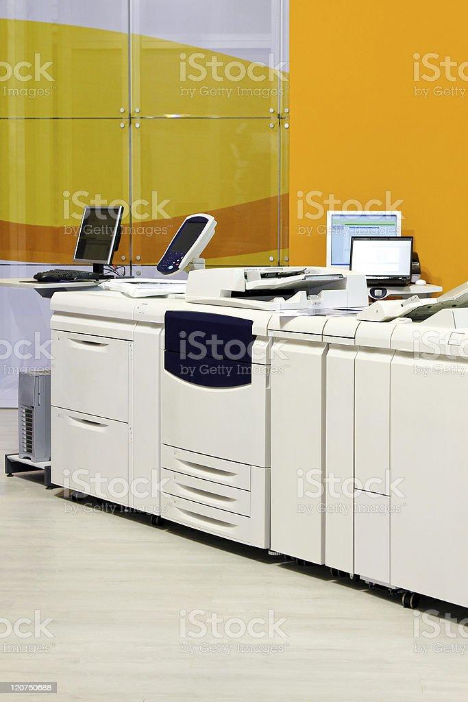 Copy printer stock photo