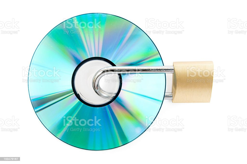 Copy Protection royalty-free stock photo