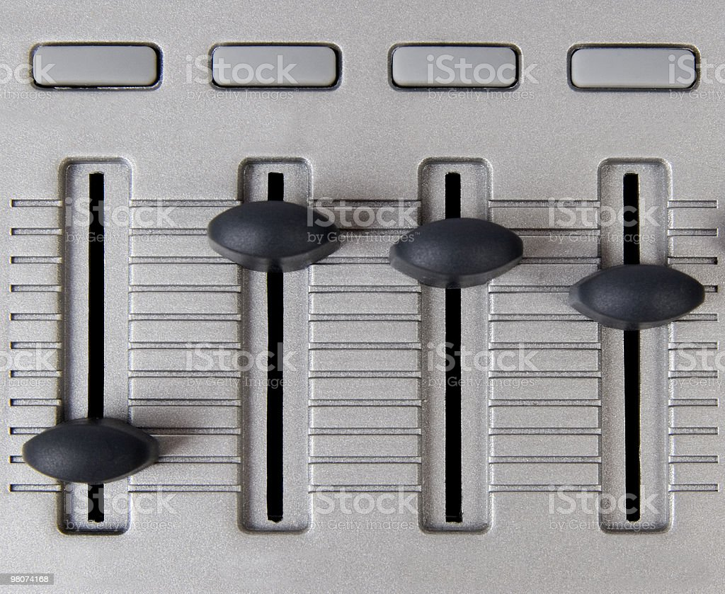 Copy Space Faders stock photo