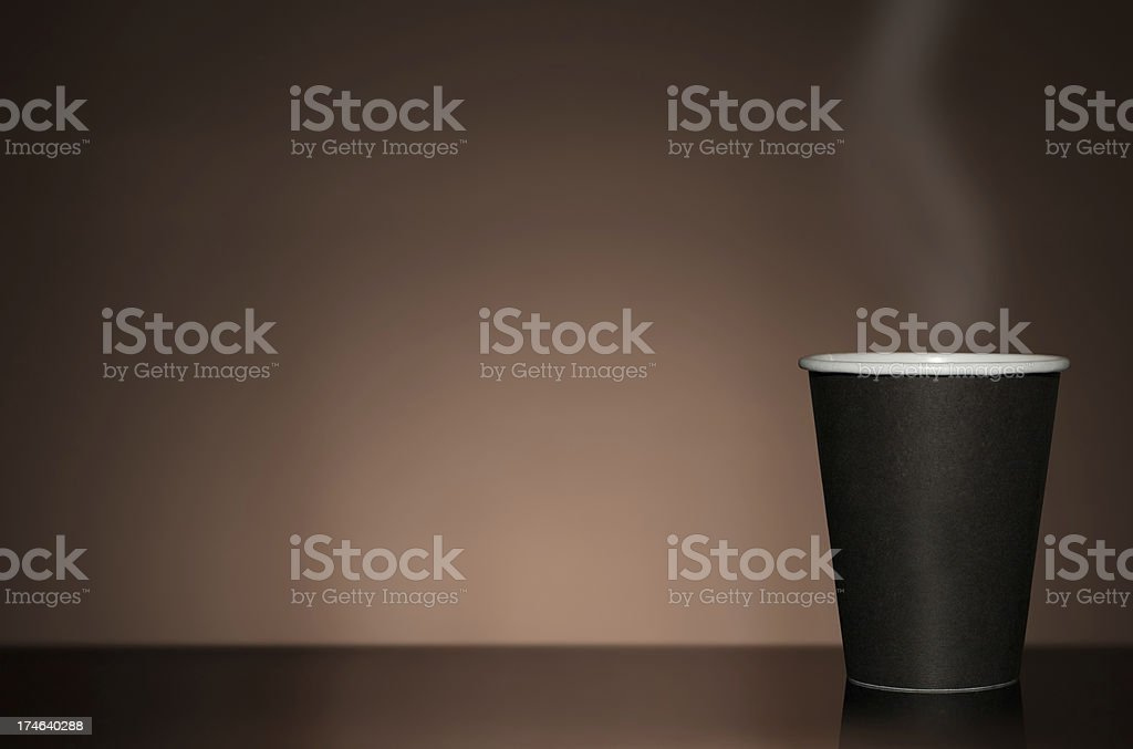 Copyspace coffe royalty-free stock photo